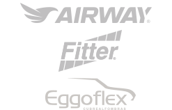Nuestras marcas: Airway, Fitter, QuickCover y Eggoflex